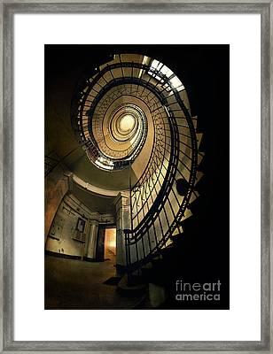 Metal Spiral Vintage Staircase Photograph By Jaroslaw