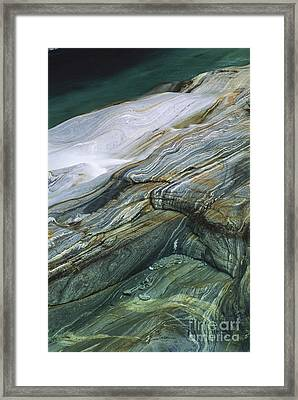 Metamorphic Rock Framed Print by Art Wolfe