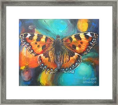 Metamorphose Framed Print by Leigh Banks
