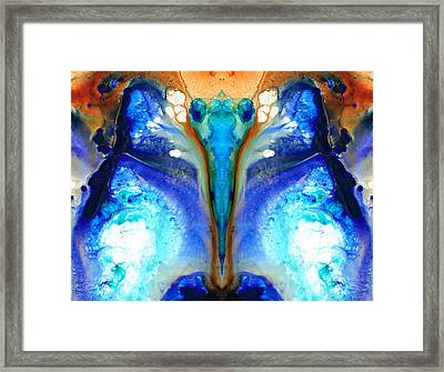 Metamorphosis - Abstract Art By Sharon Cummings Framed Print by Sharon Cummings