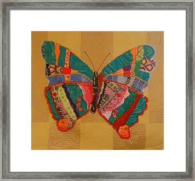 Metamorphosis Framed Print by Aisha Lumumba