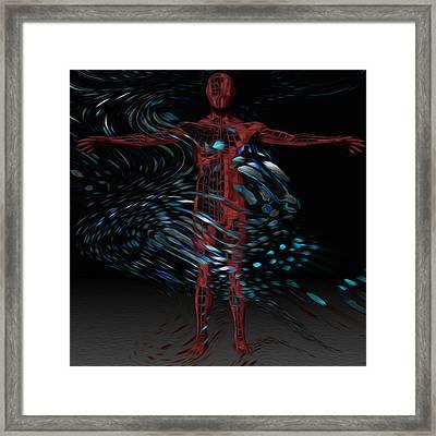 Metamorphosis Framed Print by Jack Zulli