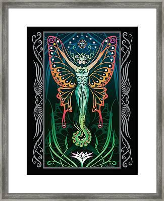 Metamorphosis V.2 Framed Print by Cristina McAllister