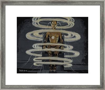 Metropolis 4 Framed Print by David Moriarty
