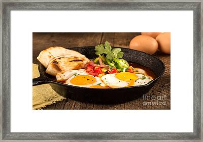 Mexican Eggs Framed Print by Iris Richardson