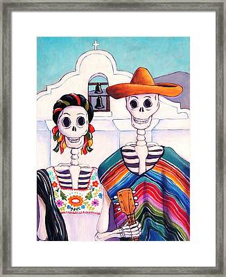 Mexican Gothic Framed Print by Candy Mayer