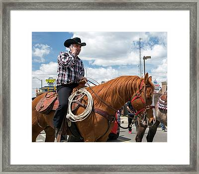 Mexican Heritage Festival Framed Print by Jim West