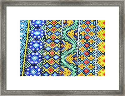 Mexico, Jalisco Colorful Beaded Framed Print by Jaynes Gallery