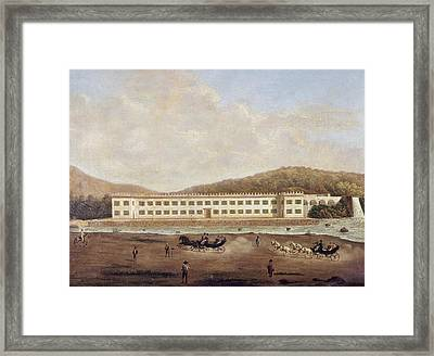 Mexico Textile Factory Framed Print by Granger