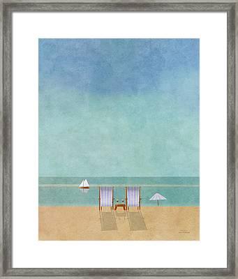 Mgl - Bathers 02 Framed Print by Joost Hogervorst