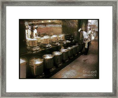 Mi Kitchen Framed Print by Jack Gannon