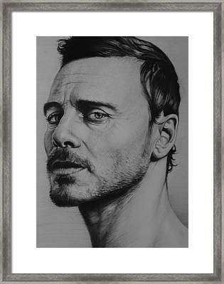 Michael Fassbender Framed Print by Steve Hunter