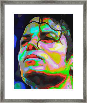 Michael Jackson Framed Print by  Fli Art