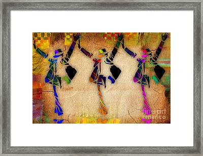 Michael Jackson This Is It Art Framed Print by Marvin Blaine
