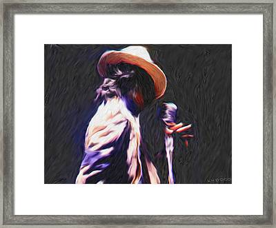 Michael Jackson Framed Print by Tyler Watts KyddCo