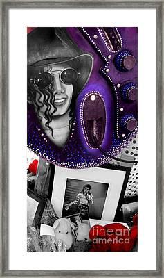 Michael's Memorial Framed Print by PJ Boylan