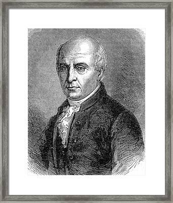 Michel Adanson Framed Print by Universal History Archive/uig