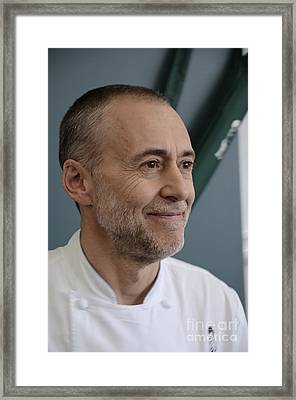 Michel Roux Jr. Framed Print by CandyAppleRed Images