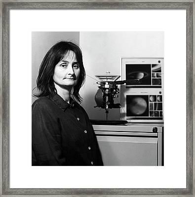 Michele Dougherty Framed Print by Lucinda Douglas-menzies