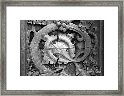 Michigan State University Detail Framed Print by University Icons