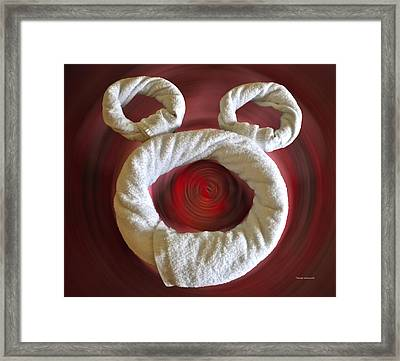 Mickey Towels Framed Print by Thomas Woolworth