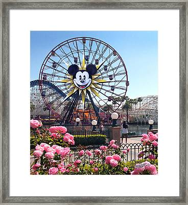 Mickey's Fun Wheel Framed Print by Doug Kreuger