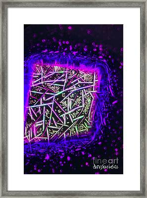 Micro Art Coffee Solution 2 Framed Print by Vin Kitayama