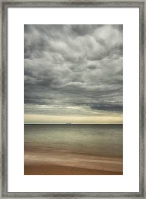 mid day at Sand Beach Framed Print by Chad Tracy