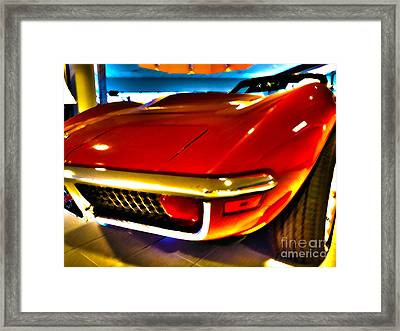 Mid-life Crisis Framed Print by Christian Jansen