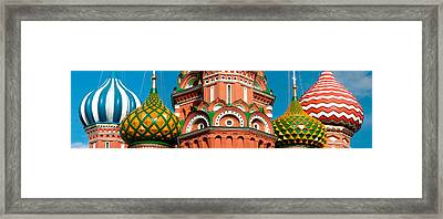 Mid Section View Of A Cathedral, St Framed Print by Panoramic Images