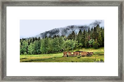 Midday Mist Framed Print by Lena Sandoval-Stockley