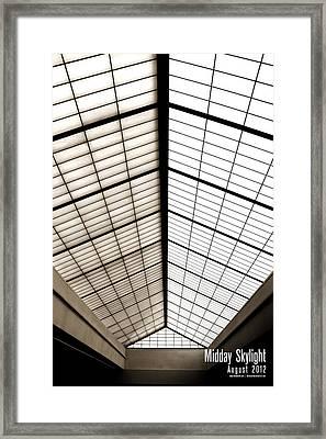 Midday Skylight Framed Print by Jeff Bell