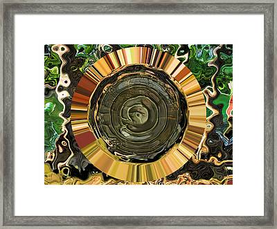 Middle Earth Framed Print by Wendy J St Christopher