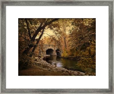 Midland Bridge Framed Print by Jessica Jenney