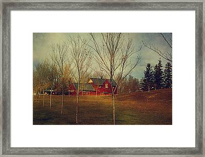 Midnapore Station - 1910 Framed Print by Maria Angelica Maira