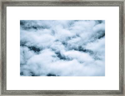 Midnight Clouds  Framed Print by Sheldon Blackwell