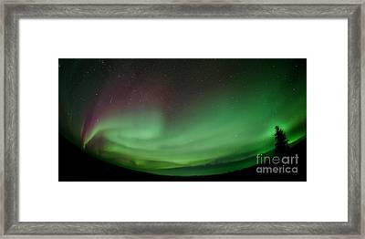 Midnight Dome Framed Print by Priska Wettstein