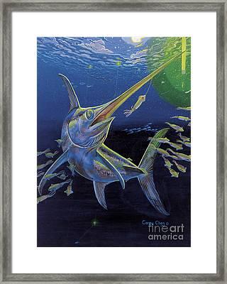 Midnight Encounter Off0023 Framed Print by Carey Chen