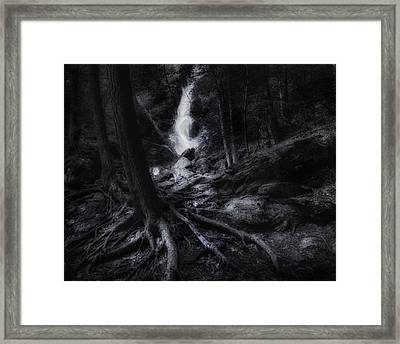 Midnight Falls Framed Print by Bill Wakeley
