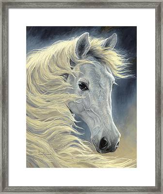 Midnight Glow Framed Print by Lucie Bilodeau