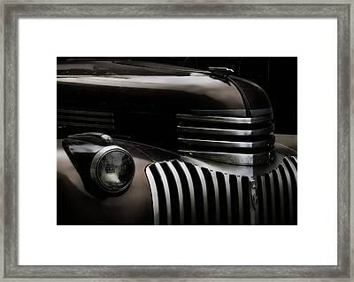 Midnight Grille Framed Print by Ken Smith