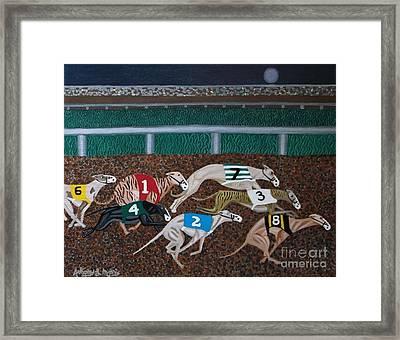 Midnight Run Framed Print by Anthony Morris