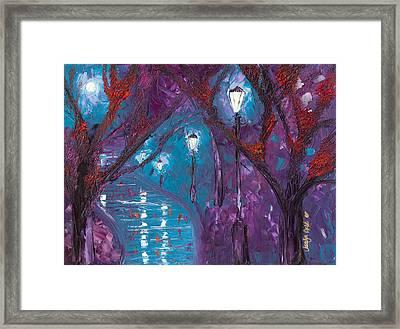 Midnight Soliloquy  Framed Print by Jessilyn Park