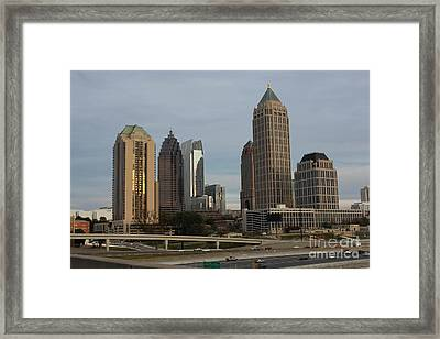 Midtown Atlanta Framed Print by Reid Callaway