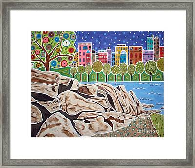 Midtown Manhattan Framed Print by Karla Gerard