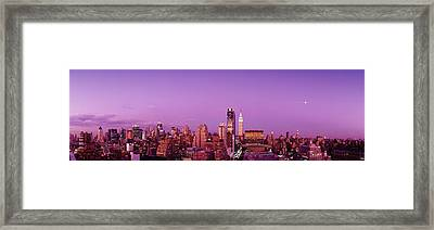 Midtown Nyc, New York City, New York Framed Print by Panoramic Images