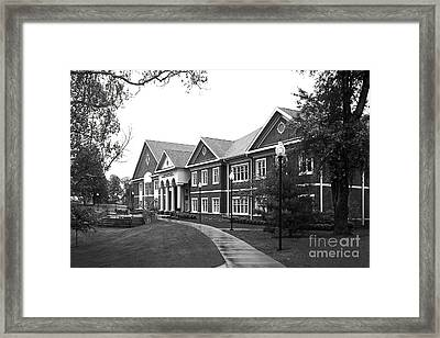 Midway College Anne Hart Raymond Center Framed Print by University Icons