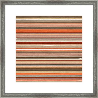 Midwestern Flair Framed Print by Lourry Legarde