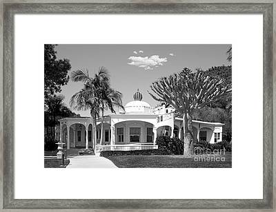 Mieras Hall Point Loma Nazarene Framed Print by University Icons