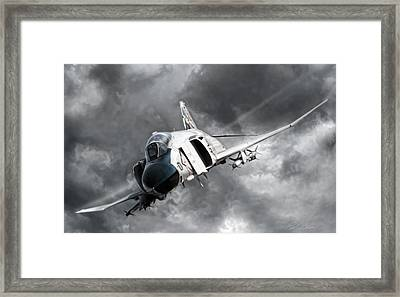 Mig Killer 2 Framed Print by Peter Chilelli